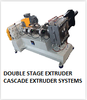 double stage cascade extruder system